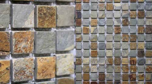 Rustikaler Mosaik